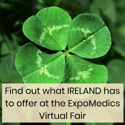 Ireland Virtual fair advertise